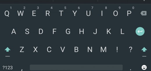 Android Stock Keyboard