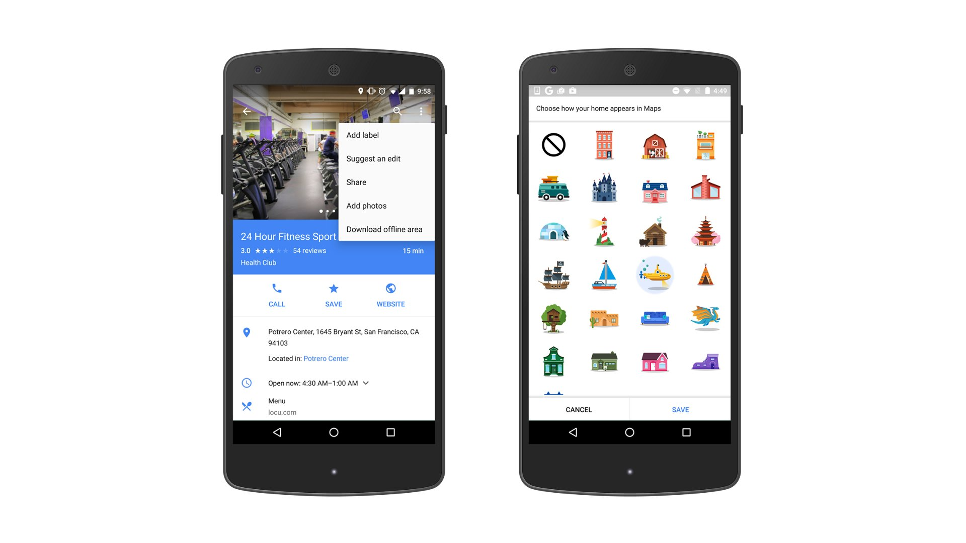 Google Maps Introduces Stickers To Mark Location