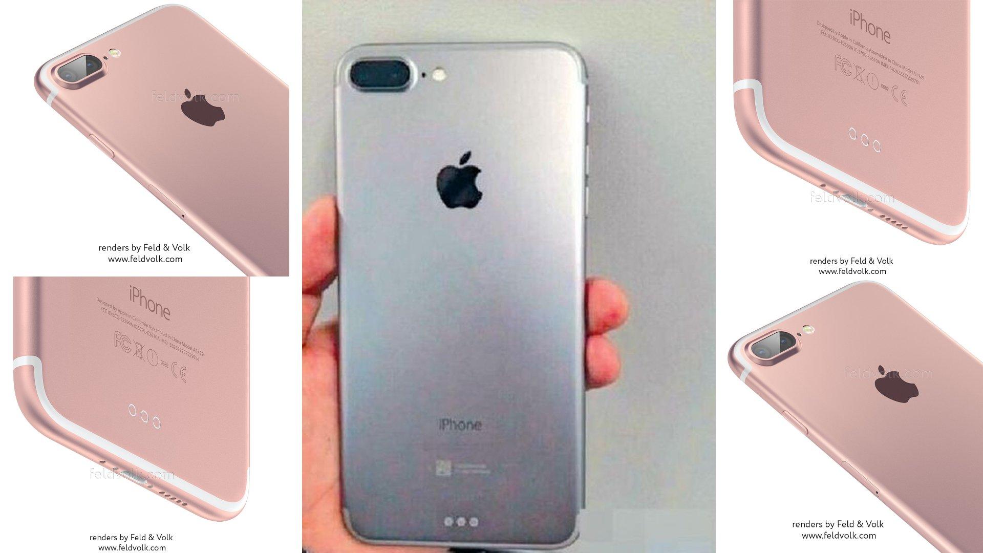 iPhone 7 Plus - Leaked Image
