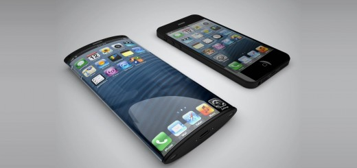 iPhone With Curved Display - Concept (Not Real One)
