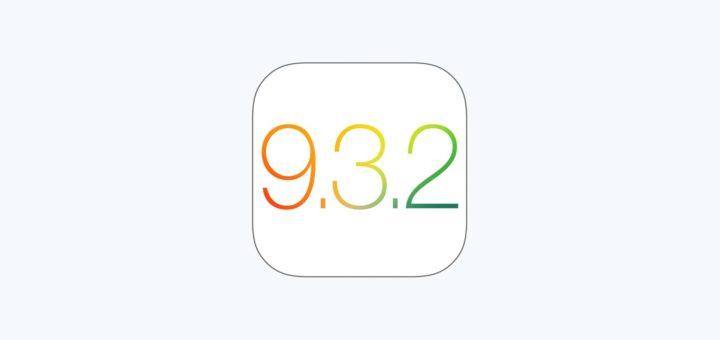 Apple iOS 9.3.2