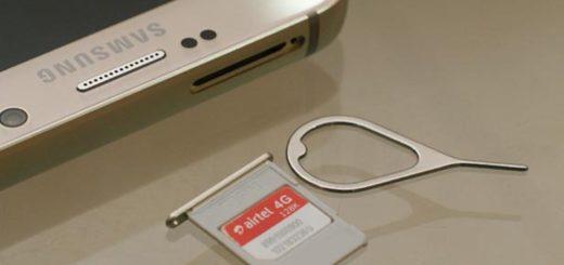 Samsung Galaxy Note 5 - SIM Card Guide