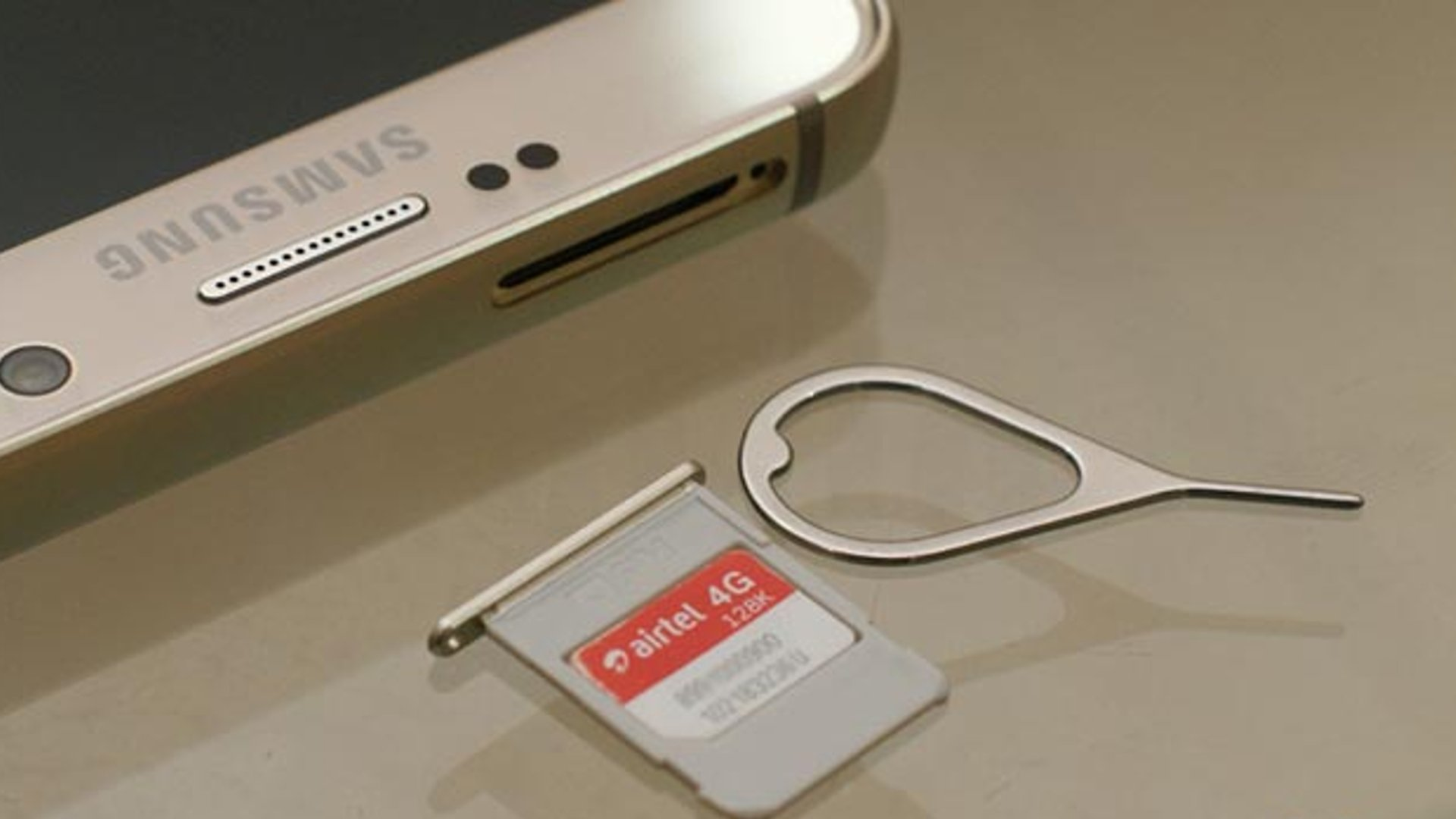 Samsung Galaxy Note 5 - SIM Card Guide
