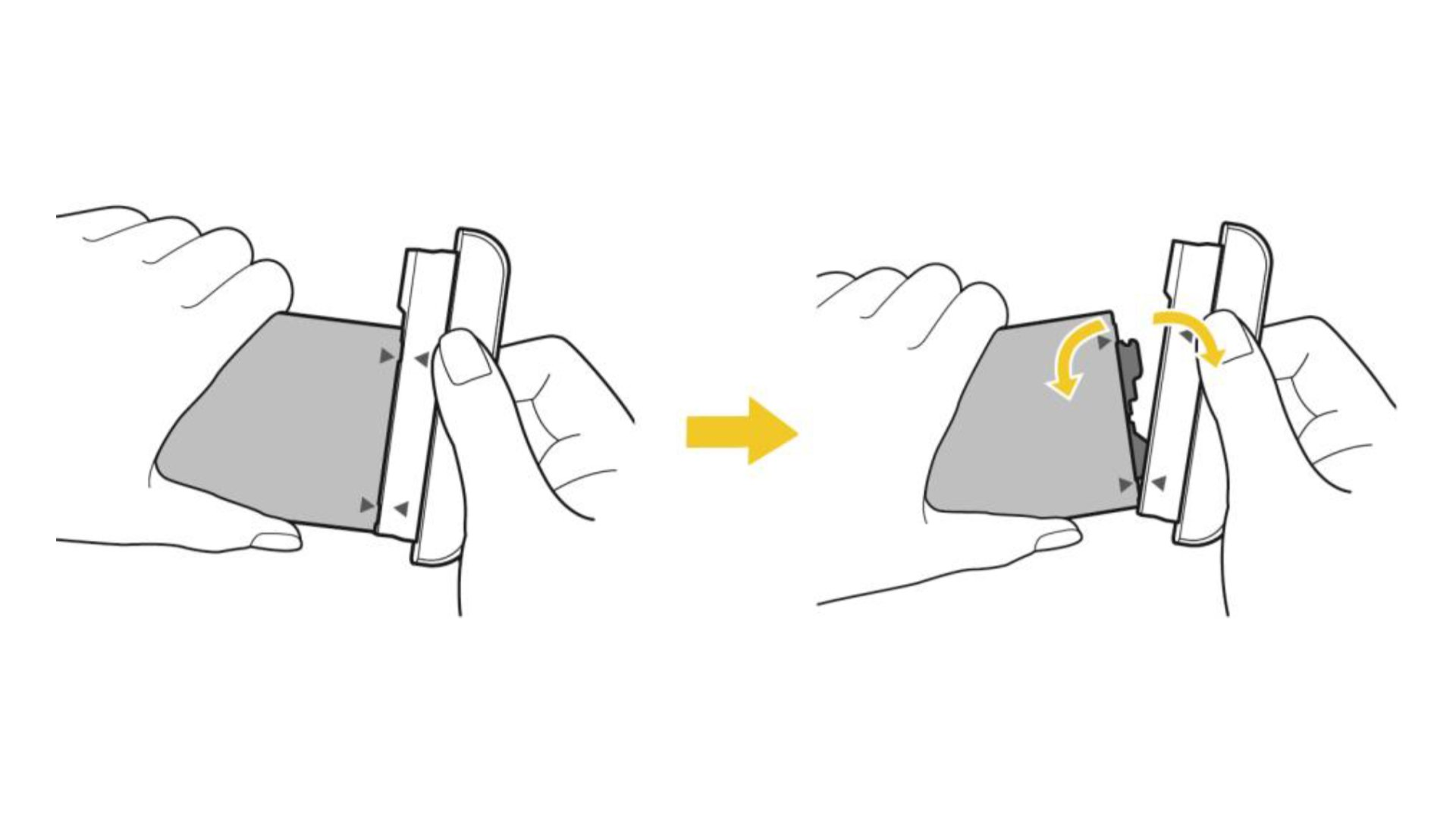 LG G5 - Removing Battery Module