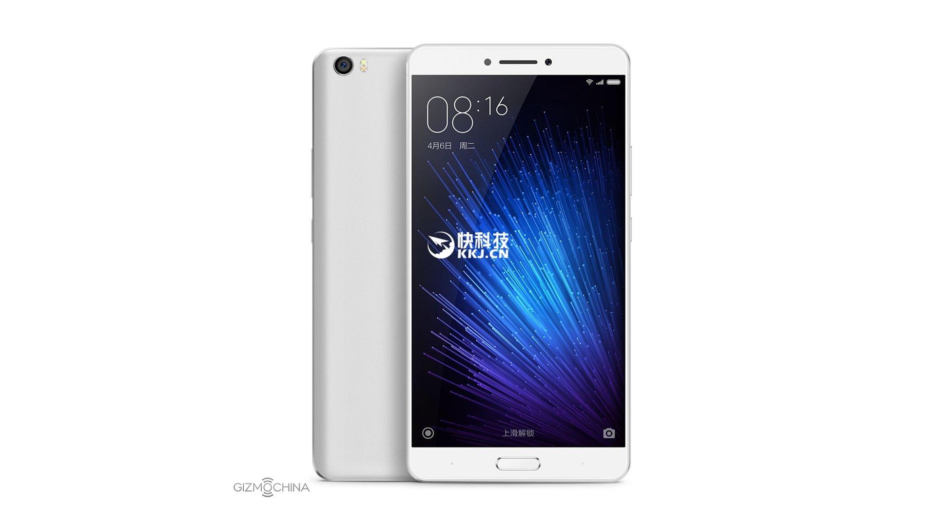 Xiaomi Max - Press Render