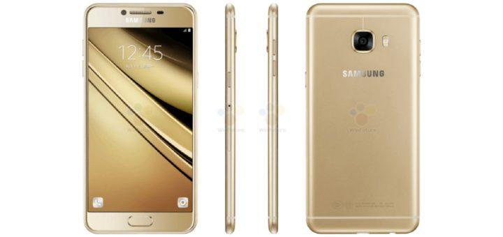 Samsung Galaxy C5 - Press Render