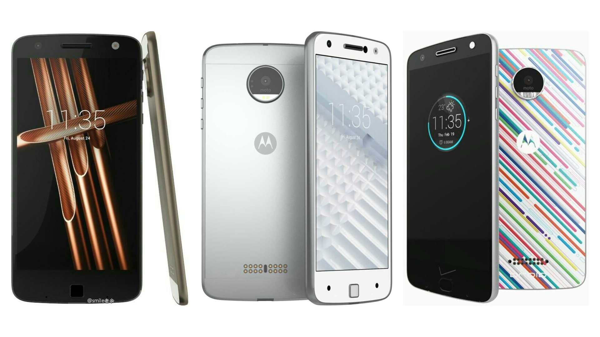 Motorola - Moto X (2016) & Droid Leaked Renders