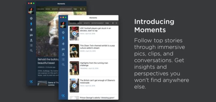 Twitter For Mac - With Moments Support