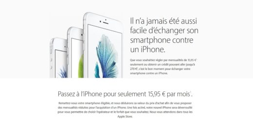 iPhone Trade-Up Program (French)