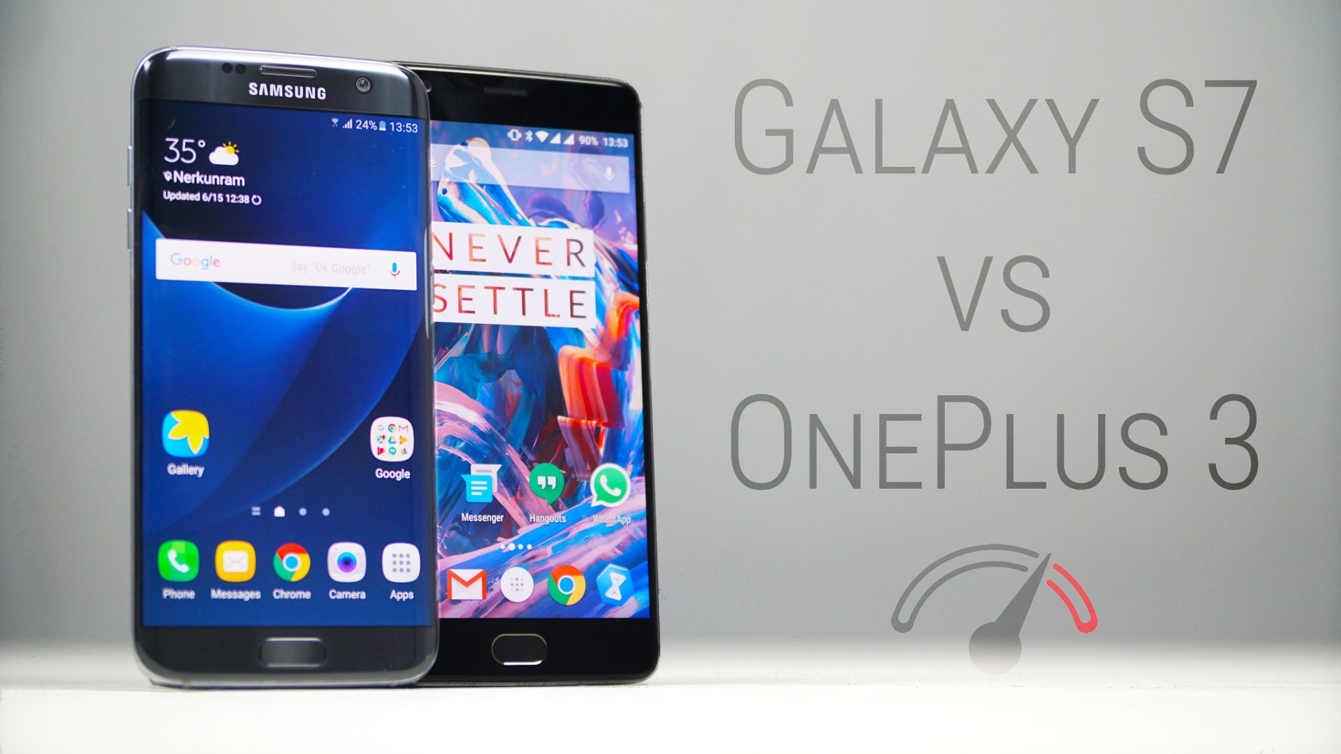 OnePlus 3 Vs Samsung Galaxy S7 Edge Real-Life Speed Test ...