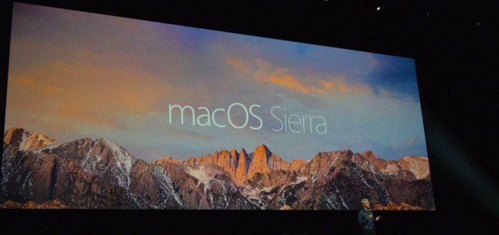 Apple macOS Sierra Presentation At WWDC