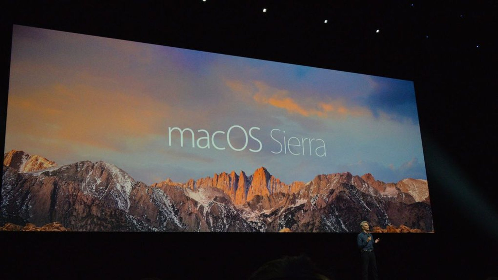 Apple macOS Sierra Presentation At WWDC