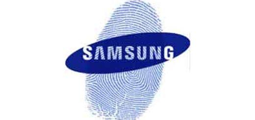 Samsung Fingerprint Scanner Patents