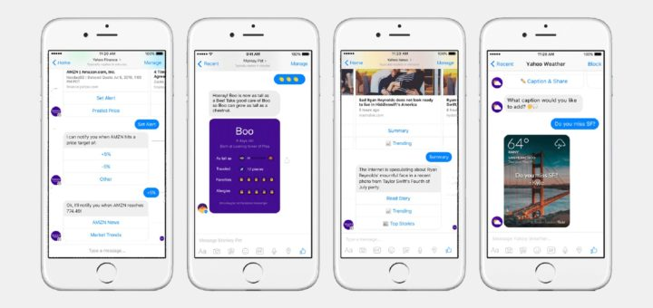 Yahoo Chatbots For Facebook Messenger