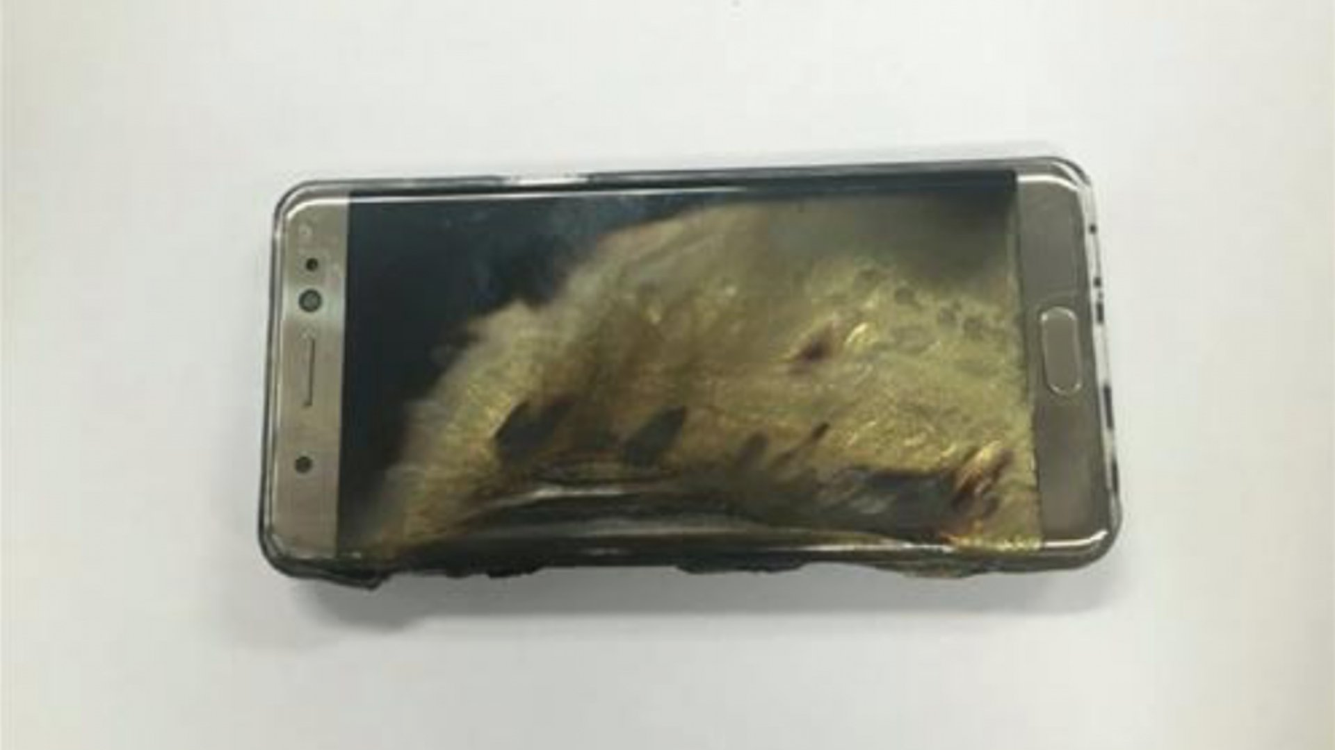 Samsung Galaxy Note 7 - Burned