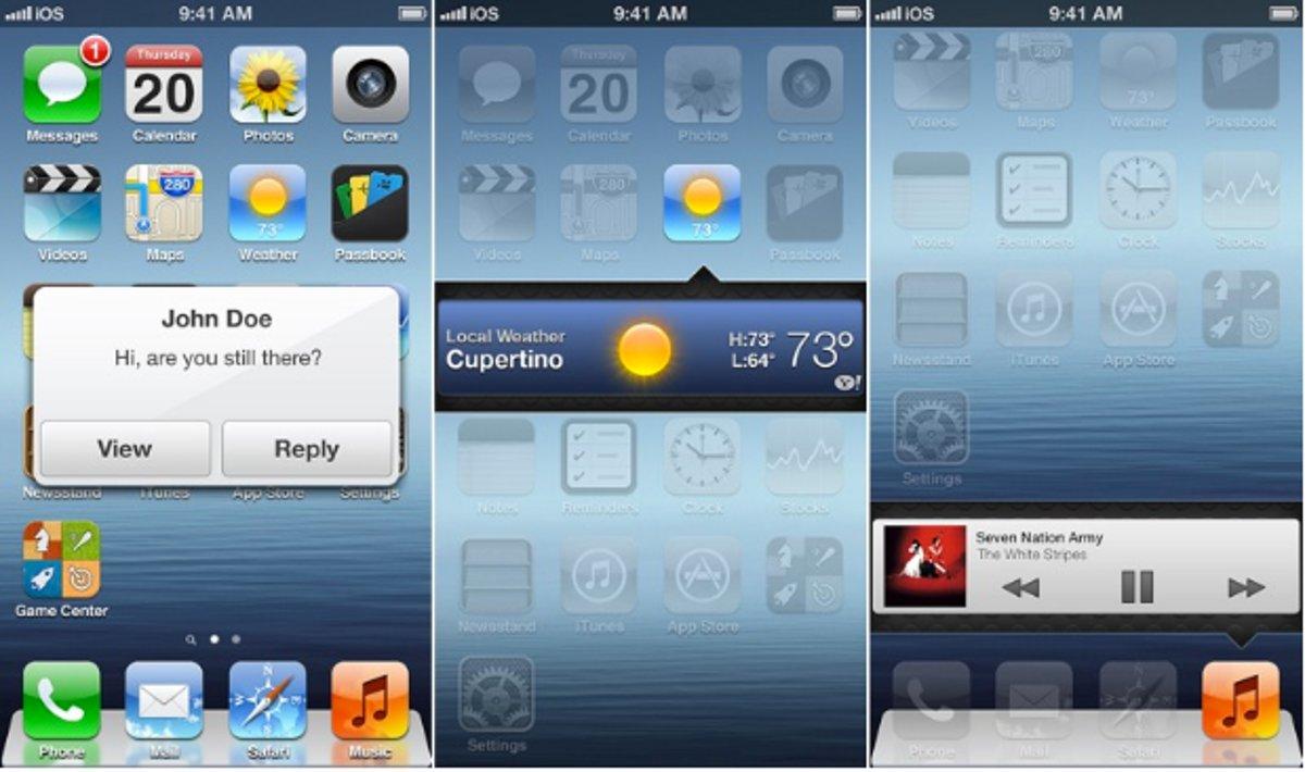 Using Widgets In iPhone 7