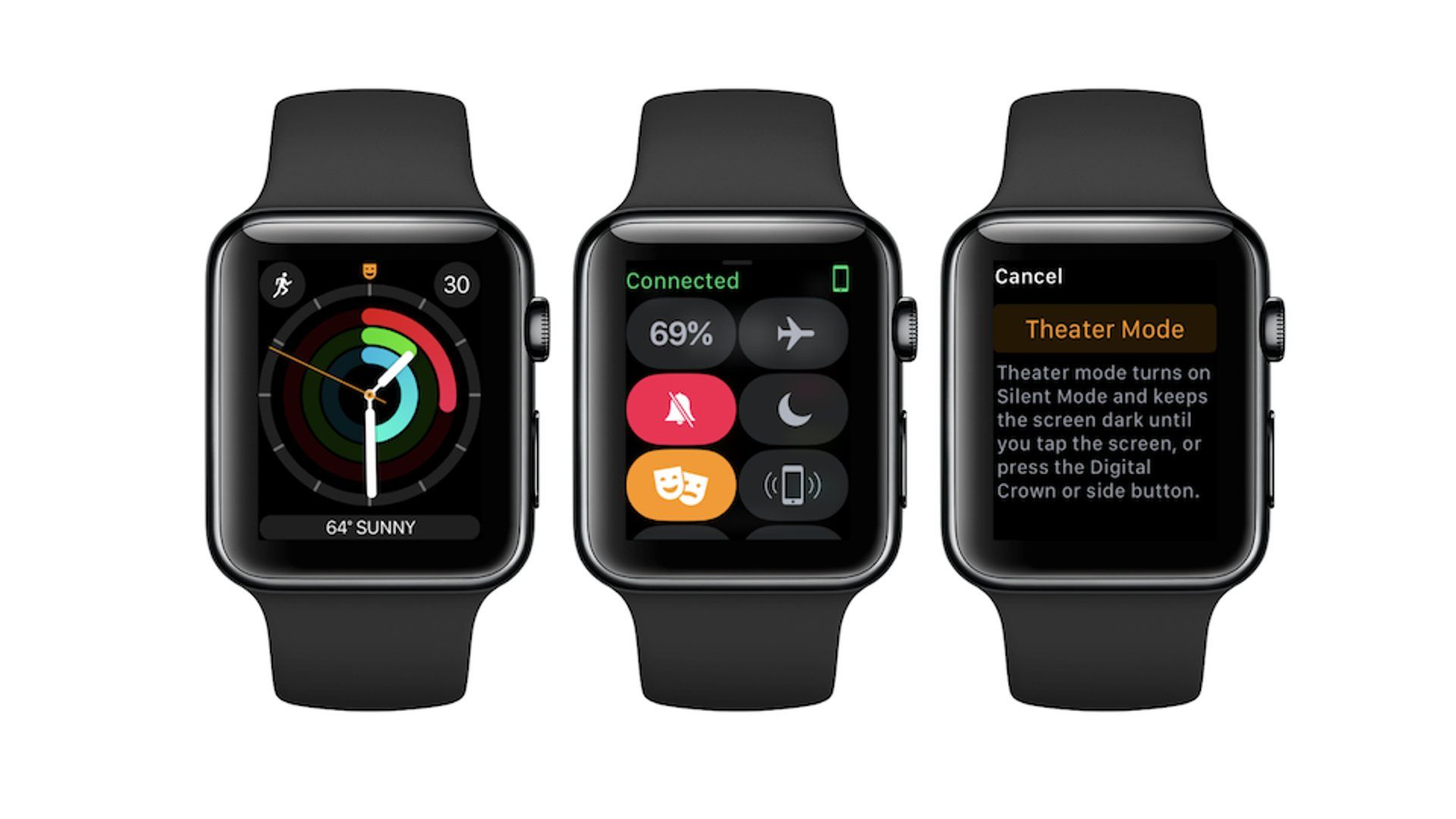 Apple Watch - Theater Mode