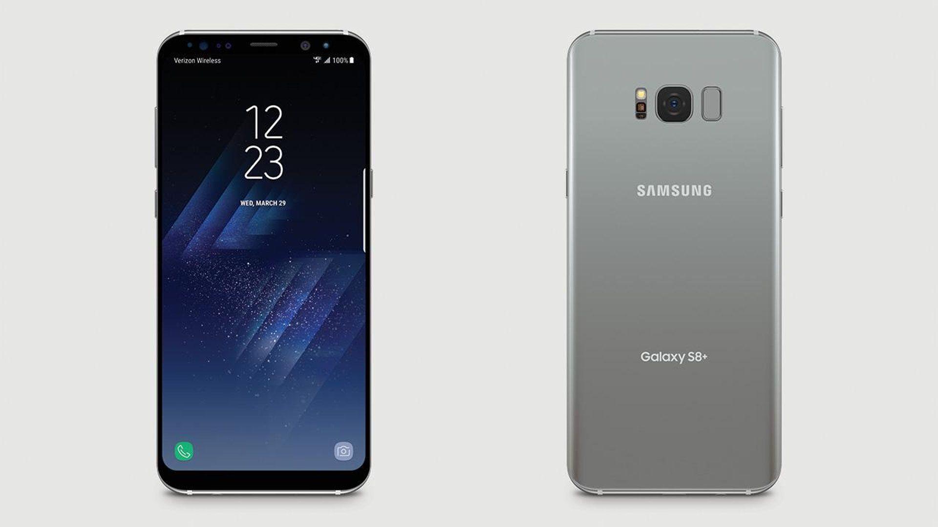 Samsung Galaxy S8+ In Verizon Wireless