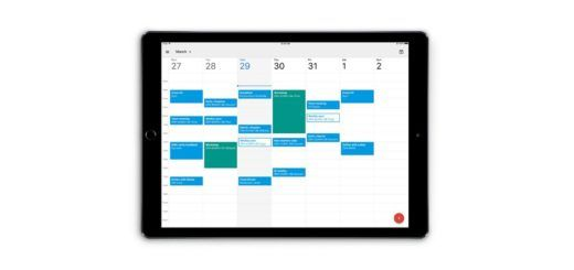 Google Calendar For iPad