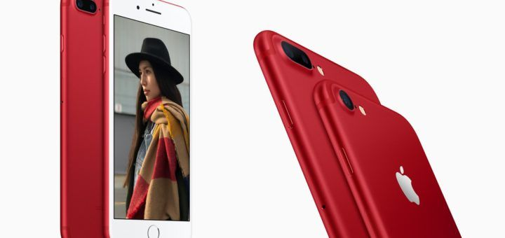Apple iPhone 7 & iPhone 7 Plus Special Edition Product (RED)