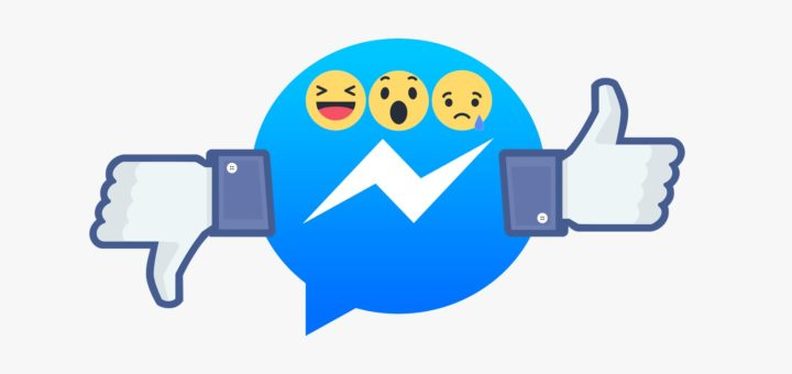 how to delete reactions on messenger