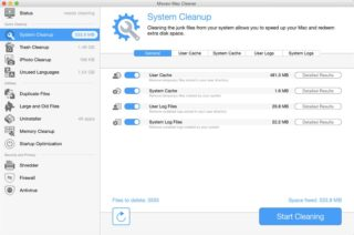 Movavi Mac Cleaner - System Cleanup