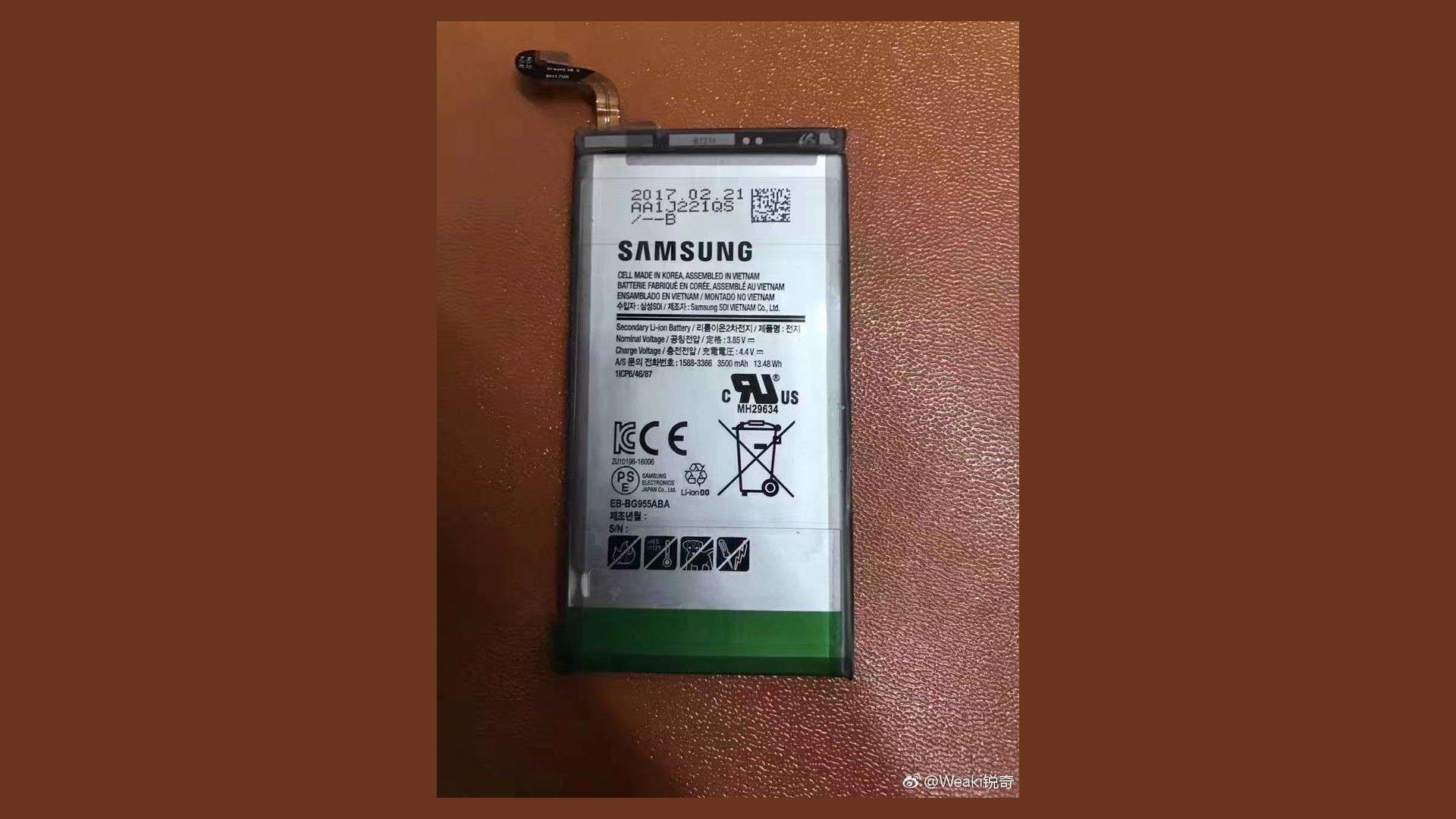 Samsung Galaxy S8 Plus - Battery