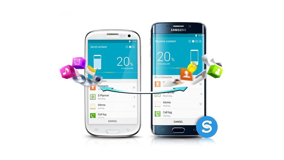 Samsung Smart Switch - Transfer Data Wirelessly