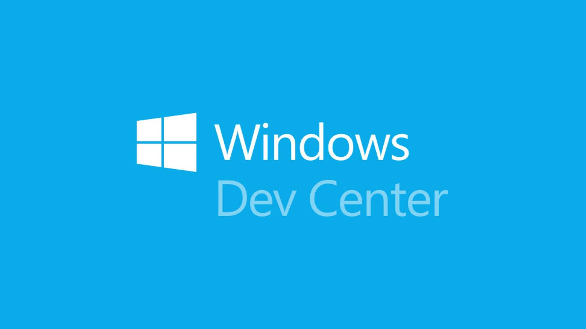 Windows Developer Center