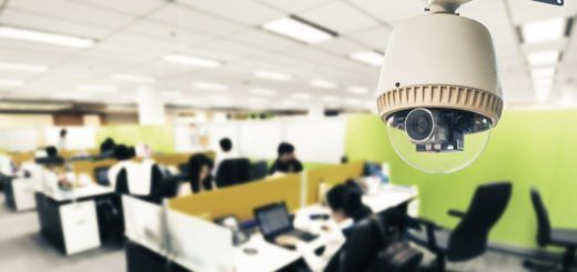 Business Security Cameras In Office