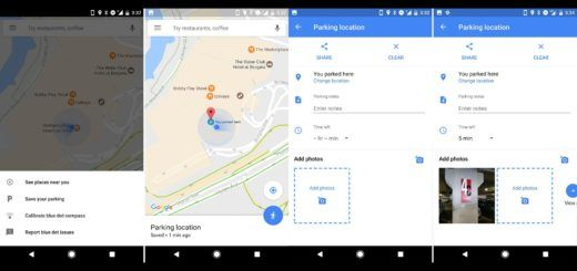 Google Maps For Android - Parking Feature