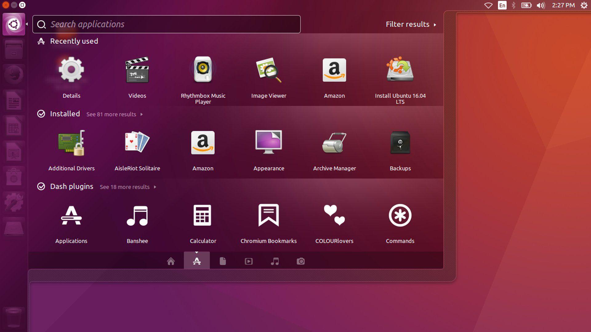 Ubuntu - Unity Desktop