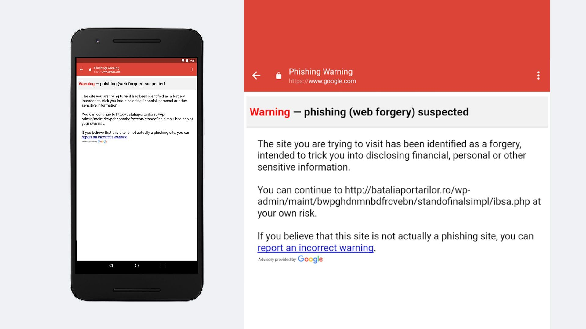 Google Improves Phishing Protection In Gmail For Android