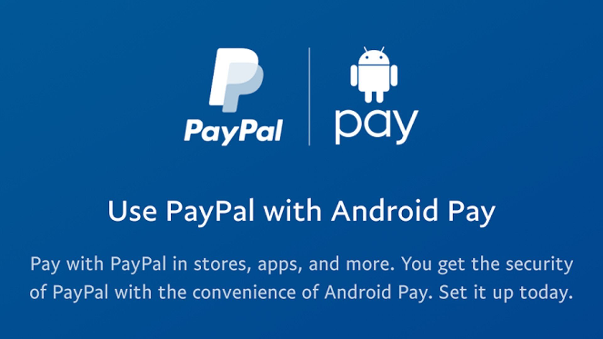 PayPal - Android Pay Integration