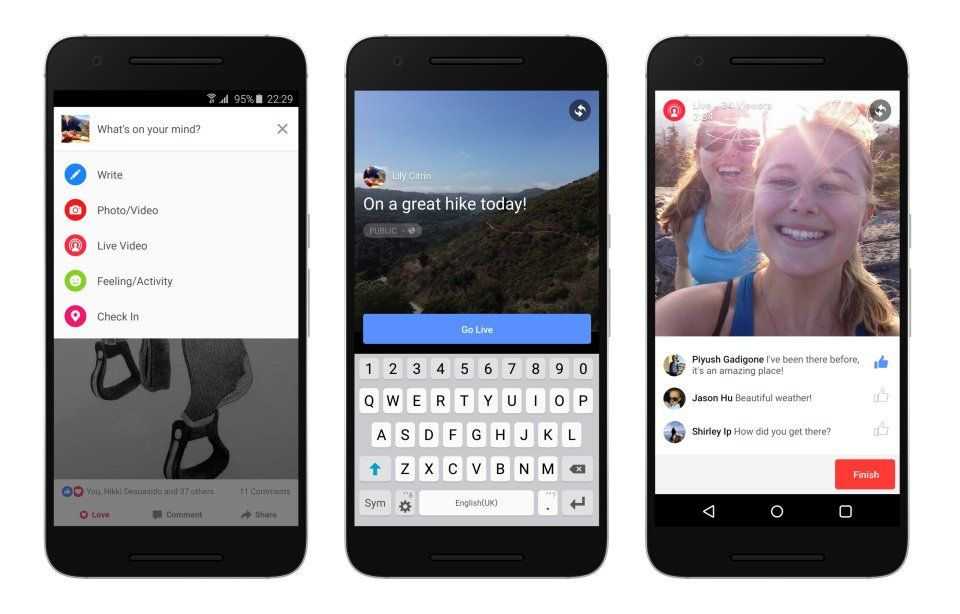 Facebook Live For Android