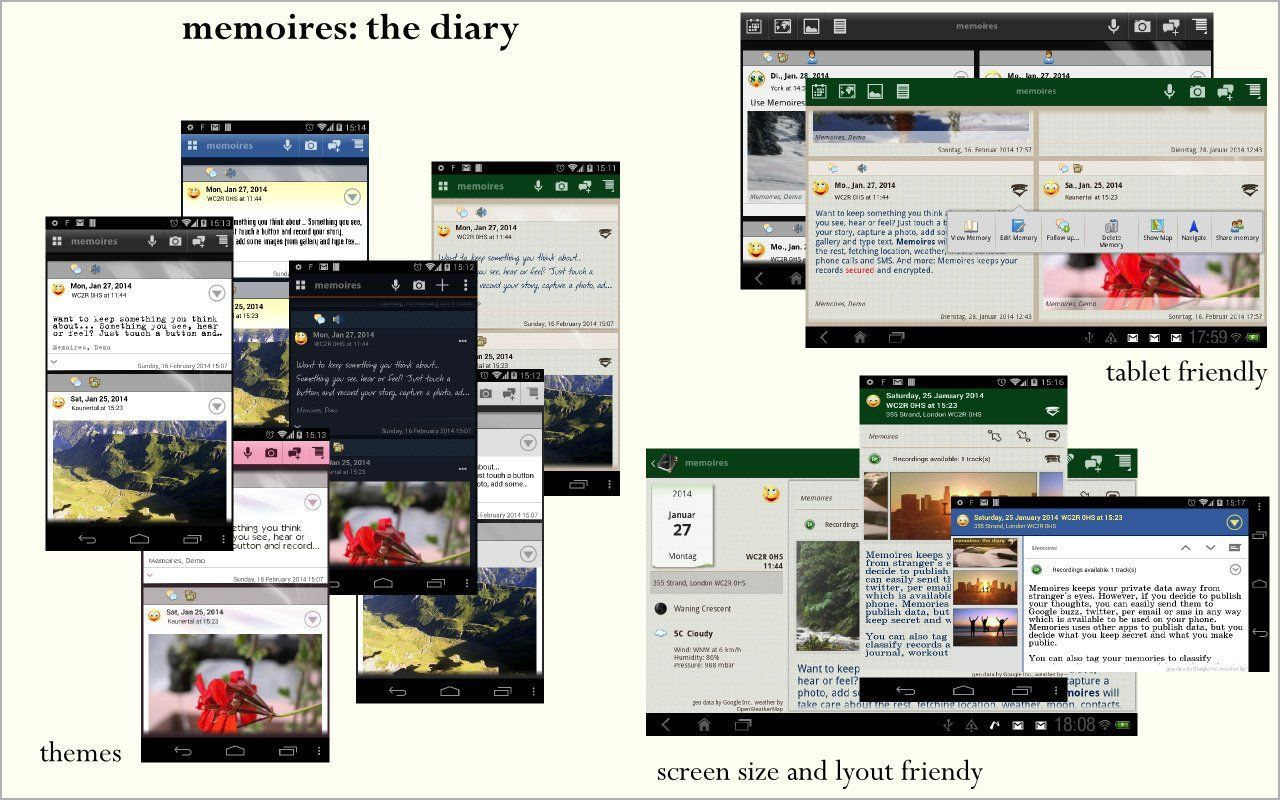 Memoires: The Diary - Android
