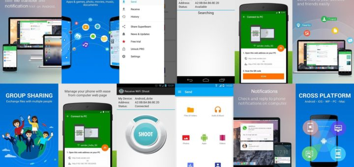 Android Wifi File Transfer Apps