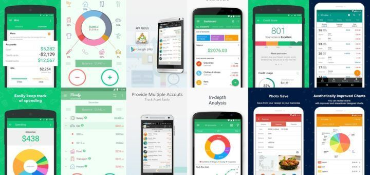 Android Finance & Budget Apps