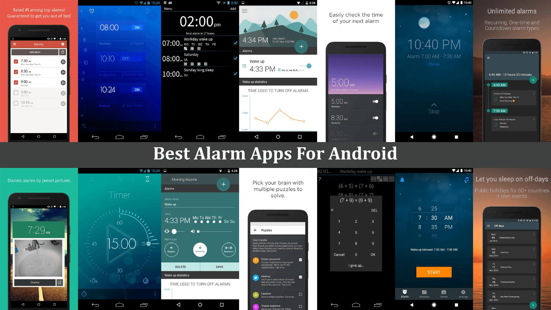 7 best alarm clock apps for android prime inspiration. Black Bedroom Furniture Sets. Home Design Ideas