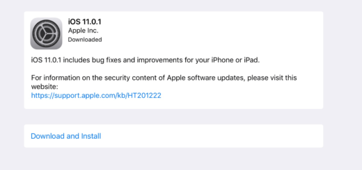 Apple iOS 11.0.1 Software Update