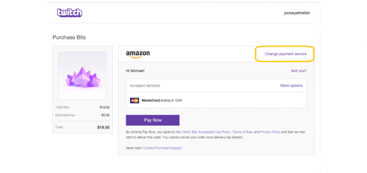 Twitch - Tip Using PayPal