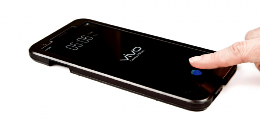 Vivo Phone With In-Display Fingerprint Sensor