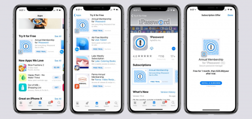Apple App Store - Free Trials For Subscription Apps