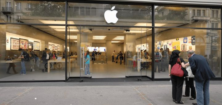 Apple Retail Store - Bahnhofstrasse 77, Zurich