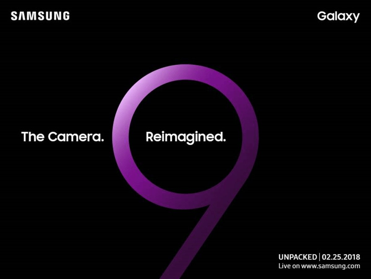 Samsung Galaxy S9 Invite