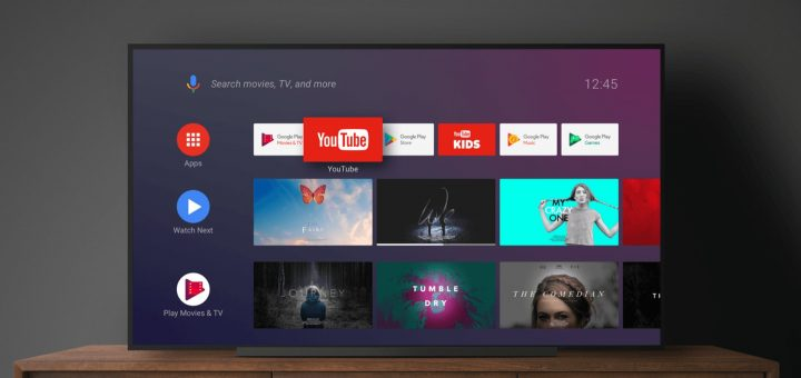 Android TV Home Launcher