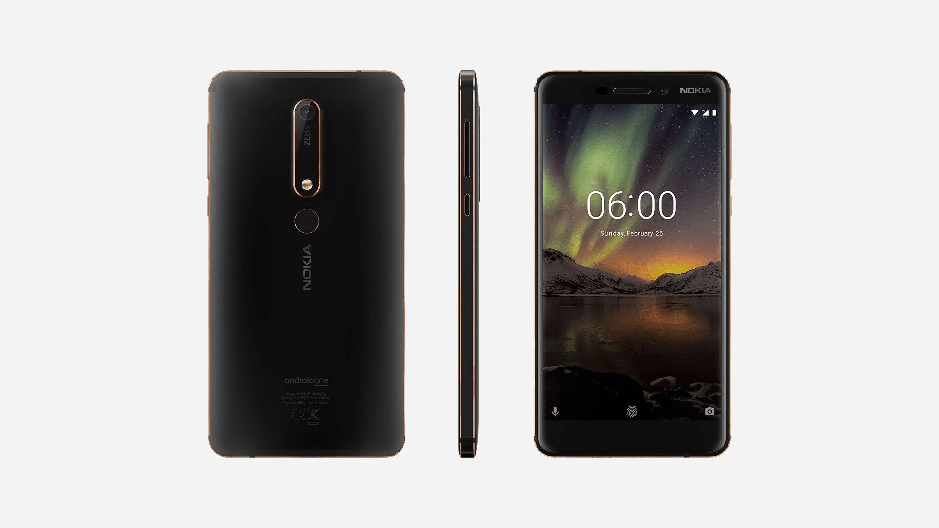 nokia 6 2018 smartphone is now available in the us prime inspiration. Black Bedroom Furniture Sets. Home Design Ideas