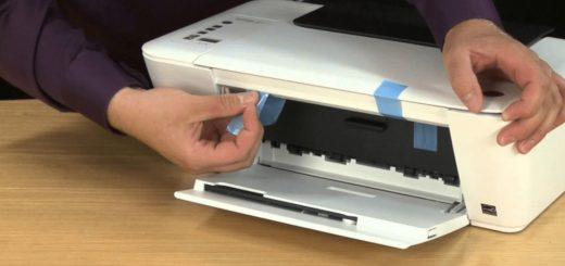 Secure Wireless HP Printer