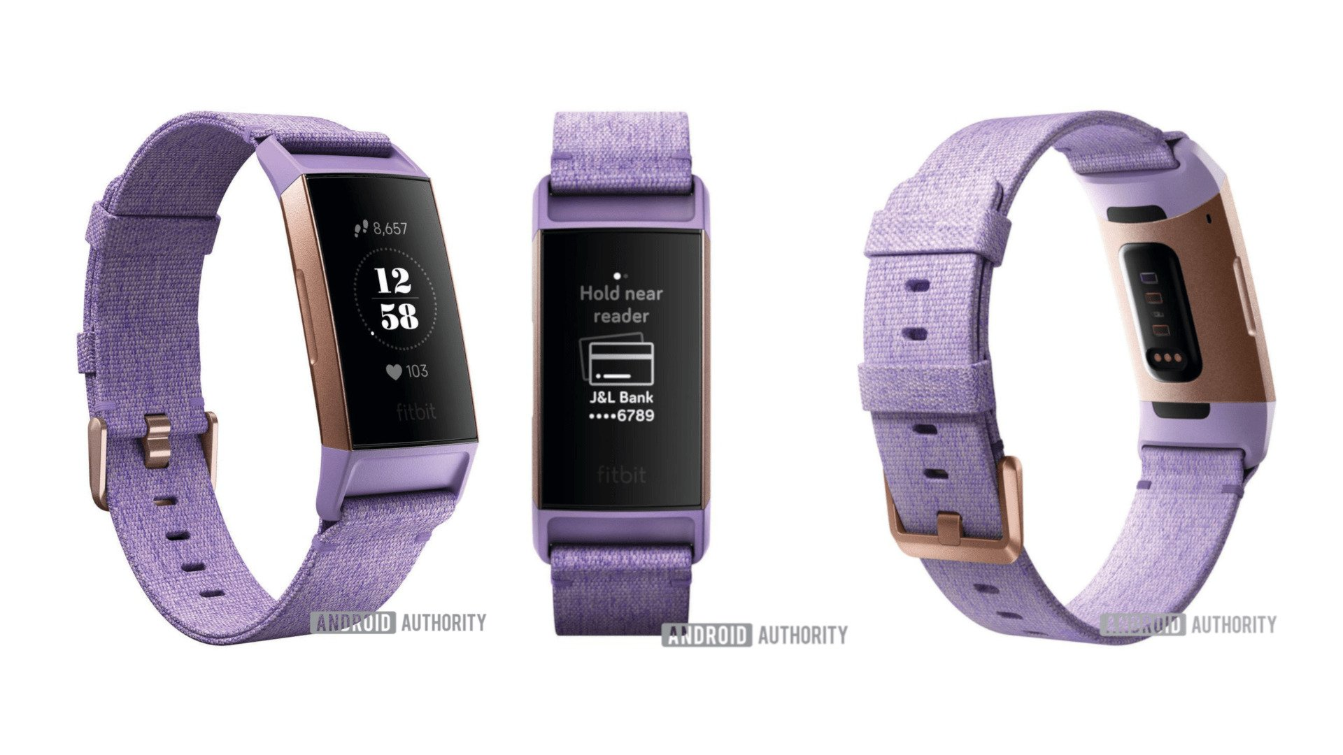 Fitbit Charge 3 specs and images leaked ahead of the launch