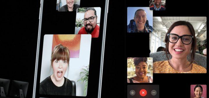 Apple iOS 12 - Group FaceTime